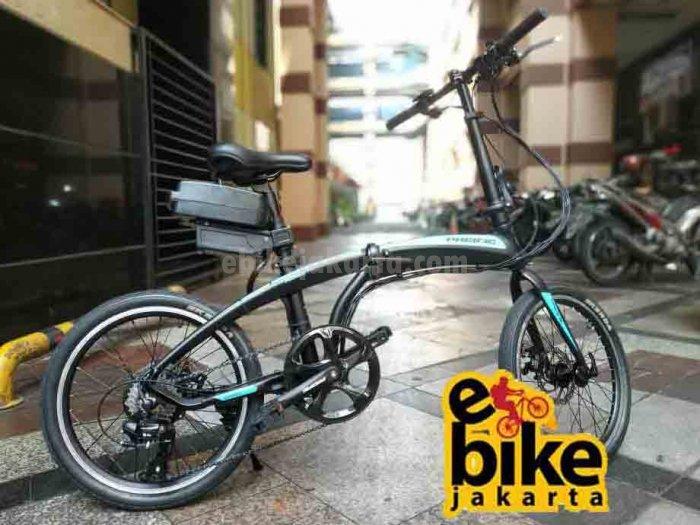 Jual Custom Sepeda Listrik Lipat Pasific Noris | Hub