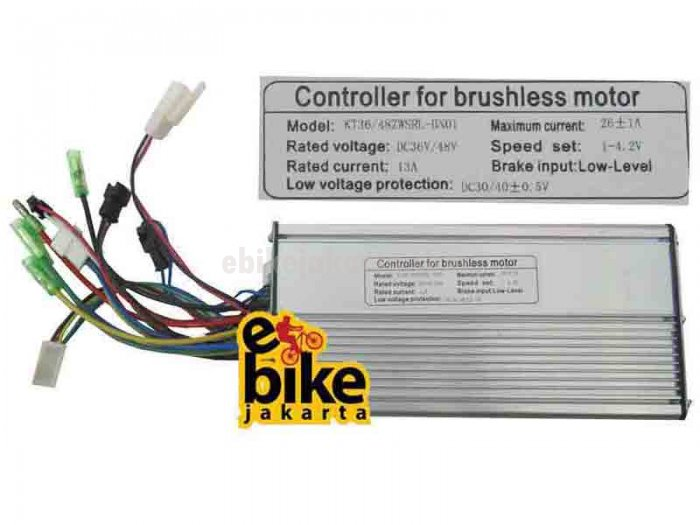 Controller for Brushless Motor Ebike 36/48V 1000W (ZCK1326)