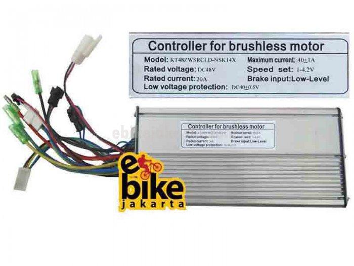 Controller for Brushless Motor Ebike 36/48V 1000-1920W (ZCK2040)