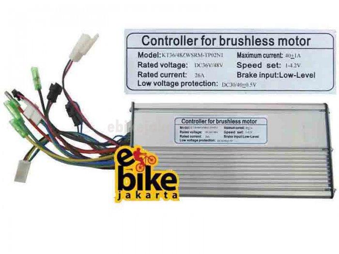 Controller for Brushless Motor Ebike 36/48V 1500W (ZCK2640)