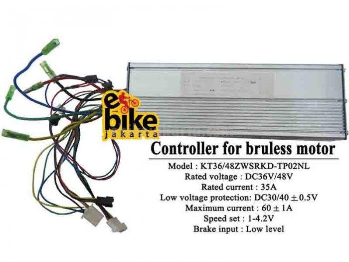 Controller for Brushless Motor Ebike 36/48V 1680W (ZCK3560)