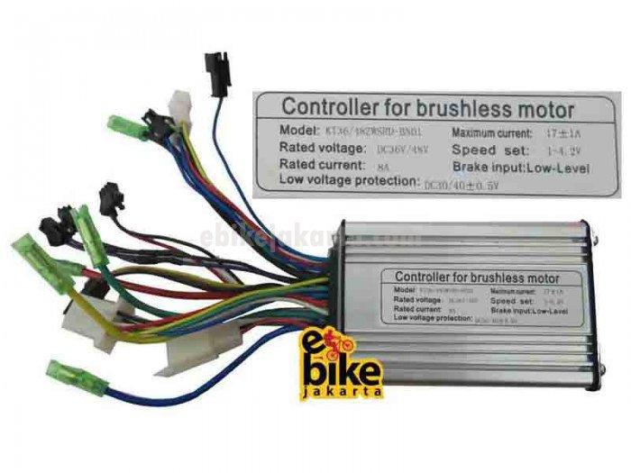 Controller for Brushless Motor Ebike 36/48V 350W (ZCK0817)