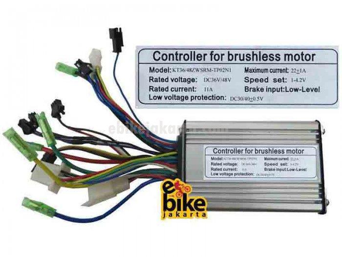 Controller for Brushless Motor Ebike 36/48V 500W (ZCK1122)