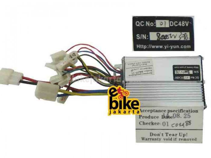 Controller for Brushless Motor Ebike 36/48V 800W (C02488)