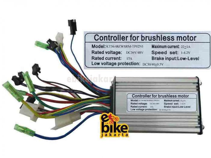 Controller for Brushless Motor Ebike 36/48V 800W (ZCK1722)