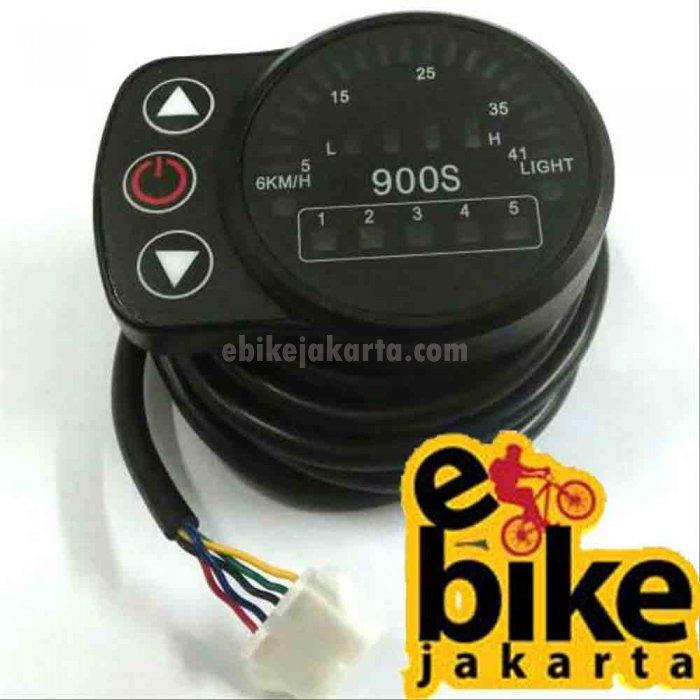 KT LED 900S 24V/36V/48V 5pin LED display Speed Meter Control Panel (ZCKTDL9)